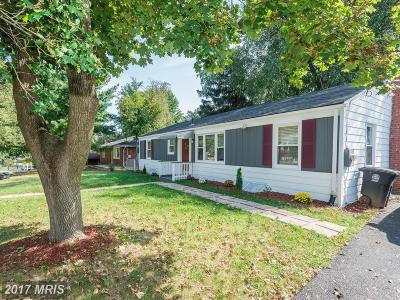 Beltsville MD Single Family Home For Sale: $338,000