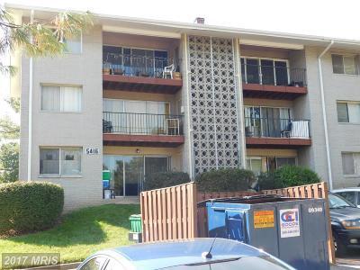 New Carrollton Condo For Sale: 5416 85th Avenue #T1