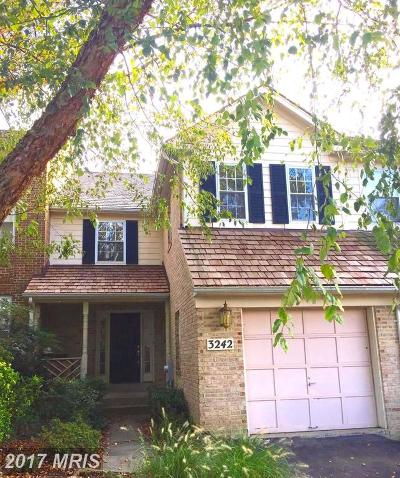 Bowie Townhouse For Sale: 3242 Spriggs Request Way