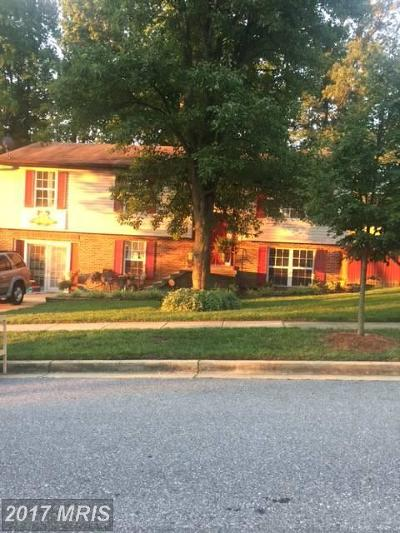 Upper Marlboro Single Family Home For Sale: 12703 Thrush Place