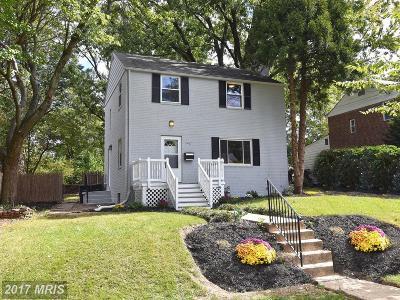 Takoma Park Single Family Home For Sale: 7407 16th Avenue