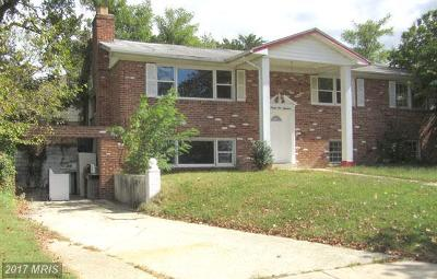 Upper Marlboro Single Family Home For Sale: 9900 Dale Drive