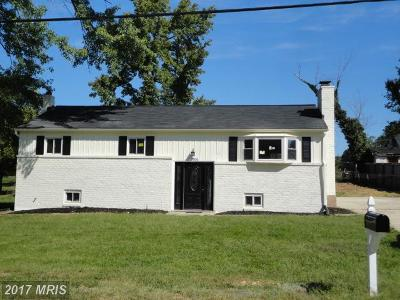 Fort Washington Single Family Home For Sale: 1806 Thomas Road