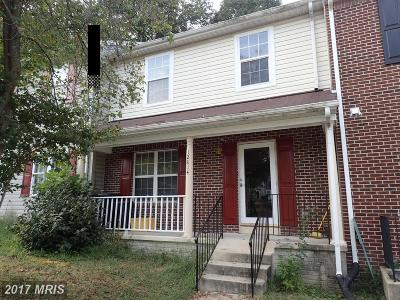 Upper Marlboro Rental For Rent: 12814 Carousel Court