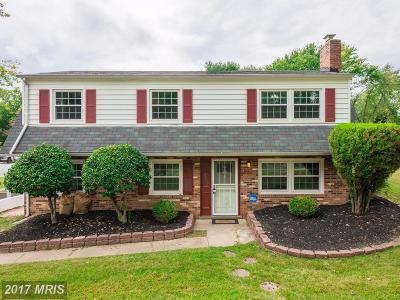Upper Marlboro Single Family Home For Sale: 4405 Dery Road