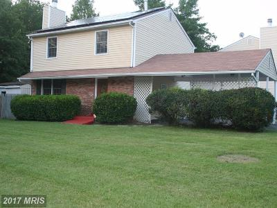 Laurel, Glenn Dale Single Family Home For Sale: 15300 Laurelton Drive