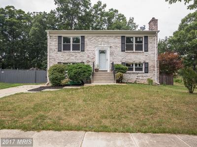 Accokeek Single Family Home For Sale: 1118 Ellingwood Drive