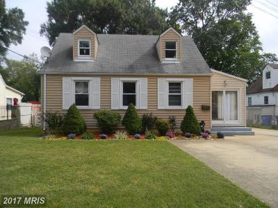 Hyattsville Single Family Home For Sale: 4403 72nd Avenue