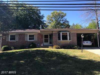 Beltsville Single Family Home For Sale: 4313 Briggs Chaney Road