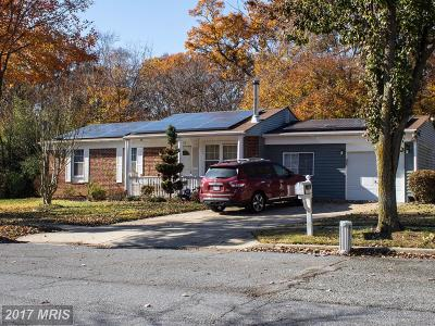 Fort Washington Single Family Home For Sale: 9613 Rooster Lane