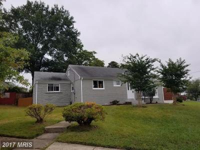 Hyattsville Single Family Home For Sale: 2000 Van Buren Street