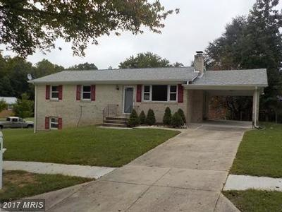 Upper Marlboro Single Family Home For Sale: 4800 Parkmont Lane