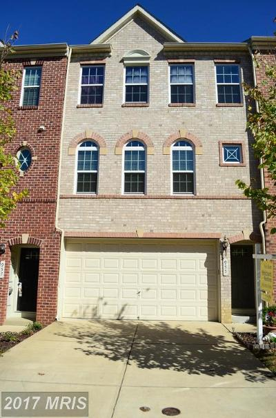 Bowie Townhouse For Sale: 955 Hall Station Drive