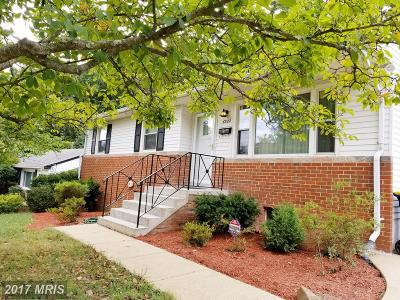 New Carrollton Single Family Home For Sale: 6522 Jodie Street