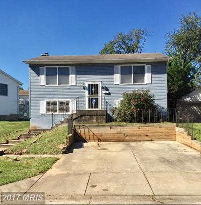 Landover Single Family Home For Sale: 2106 Ohio Avenue