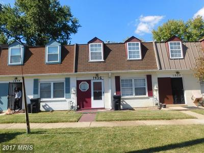 Hyattsville Rental For Rent: 1936 Village Green Drive #G-176