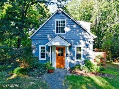 Berwyn Heights Single Family Home For Sale: 8824 Edmonston Road
