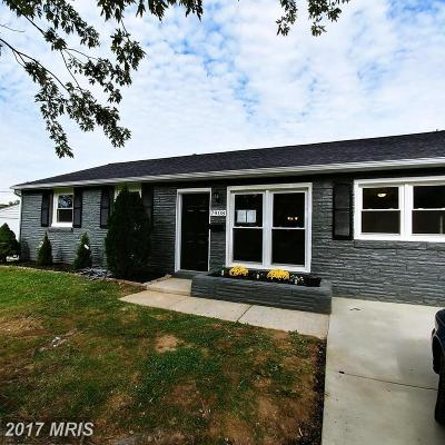 Glenarden Single Family Home For Sale: 7908 Piedmont Avenue