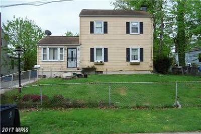 Hyattsville Single Family Home For Sale: 4004 70th Avenue