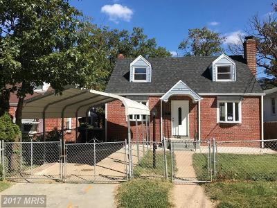 Hyattsville Single Family Home For Sale: 5418 Gallatin Street