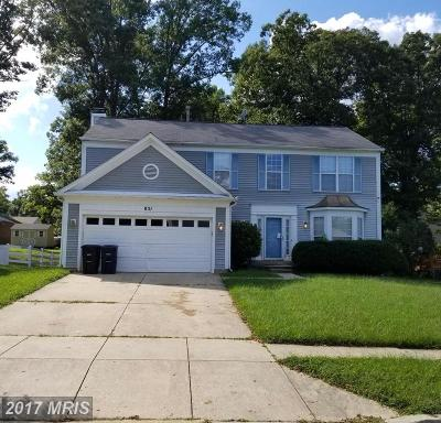 Accokeek Single Family Home For Sale: 851 Chatsworth Drive