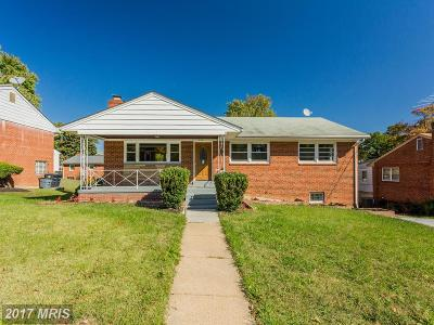 Hyattsville Single Family Home For Sale: 910 Linwood Street