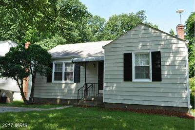 Temple Hills Rental For Rent: 5605 Joan Lane