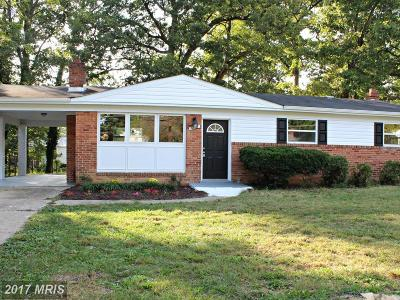 Clinton MD Single Family Home For Sale: $259,995
