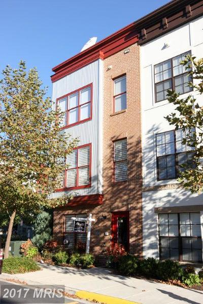 Hyattsville Townhouse For Sale: 4540 Longfellow Street