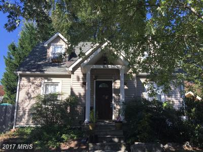 Laurel, Glenn Dale Single Family Home For Sale: 911 Nichols Drive