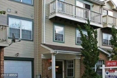 Bowie Townhouse For Sale: 4709 Ridgeline Terrace #289