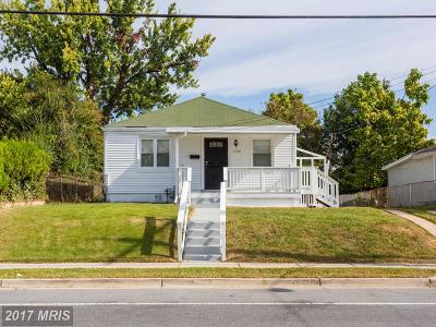 Capitol Heights Single Family Home For Sale: 5108 Addison Road