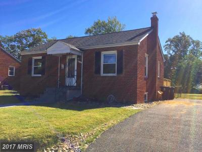 Suitland Single Family Home For Sale: 4639 Bromley Avenue