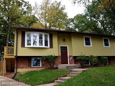 Lanham Single Family Home For Sale: 8804 Groton Court