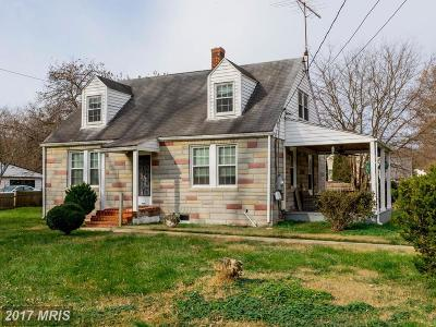 Upper Marlboro Single Family Home For Sale: 13500 Old Marlboro Pike