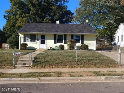 Oxon Hill Single Family Home For Sale: 1112 Dumfries Street