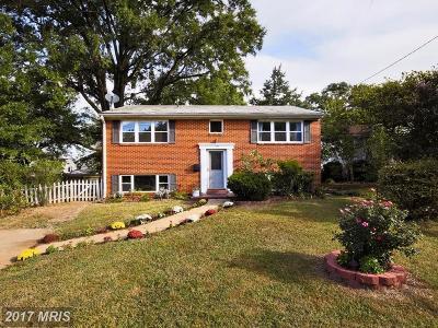 Berwyn Heights Single Family Home For Sale: 6104 Seminole Street