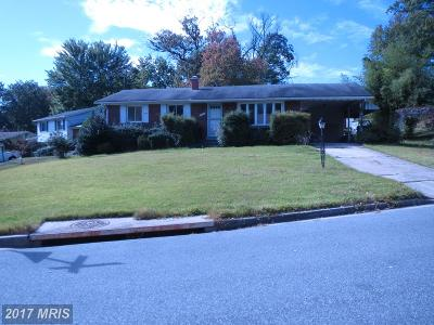 College Park Single Family Home For Sale: 5917 Bryn Mawr Road