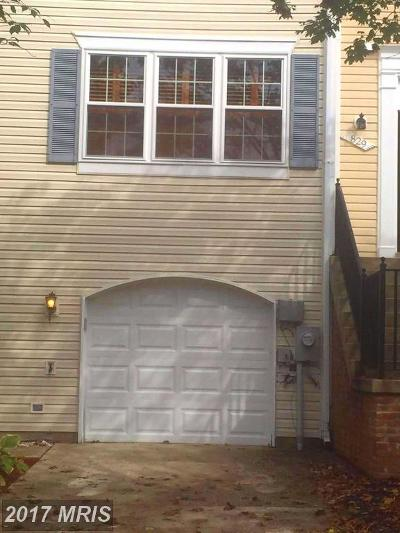 Bowie Townhouse For Sale: 831 Postwick Place N