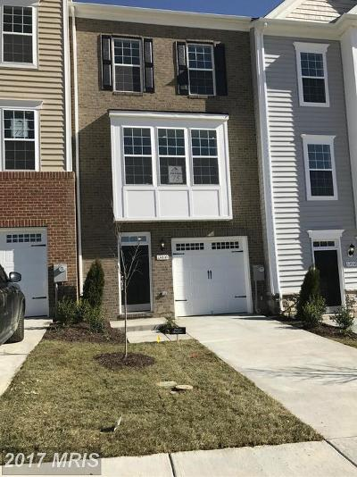 Upper Marlboro Townhouse For Sale: 8810 Sweet Rose Court