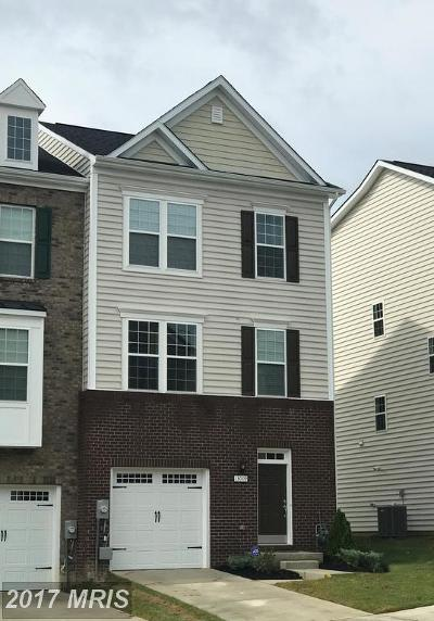 Upper Marlboro Townhouse For Sale: 8814 Sweet Rose Court