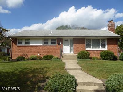 New Carrollton Single Family Home For Sale: 8512 Powhatan Street