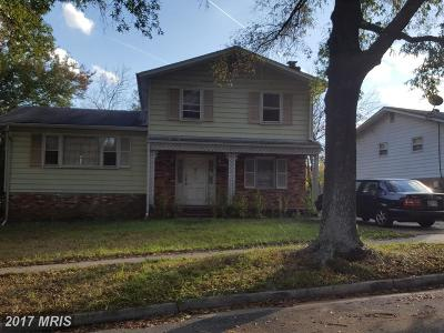 Lanham Single Family Home For Sale: 4510 Kinmount Road