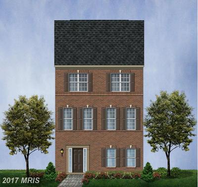 Glenarden Townhouse For Sale: 9511 Smithview Place