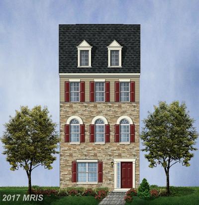 Glenarden Townhouse For Sale: 9531 Smithview Place