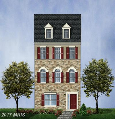 Glenarden Townhouse For Sale: 9513 Smithview Place