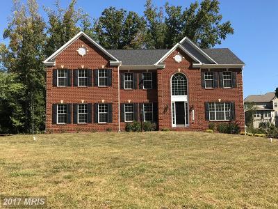 Bowie Single Family Home For Sale: 3603 Bonhoeffer Drive