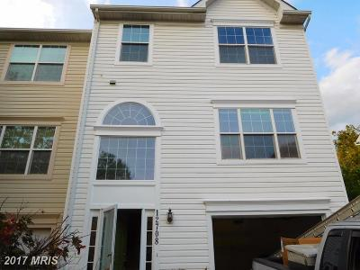 Beltsville Townhouse For Sale: 12708 Sullivan Court