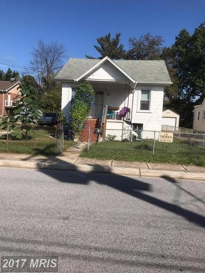 Hyattsville Rental For Rent: 1830 Metzerott Road #A-4
