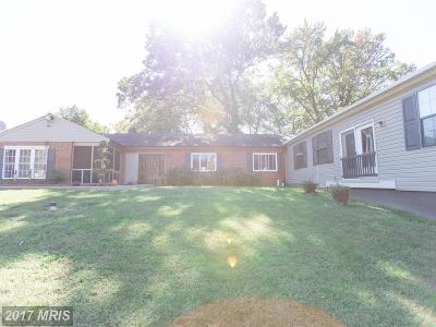Temple Hills Single Family Home For Sale: 5005 Henderson Road